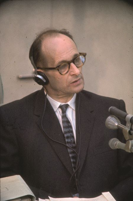 Adolf Eichmann trial 1961