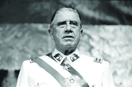 Augusto Pinochet, leader of Chile, 1973-1990