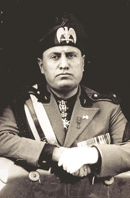 Benito Mussolini, Italian fascist leader, October 1923