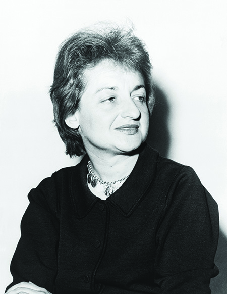 Betty Friedan in 1963