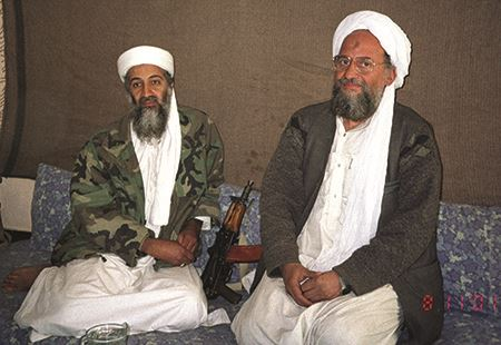 Osama bin Laden and top deputy Ayman al-Zawahiri
