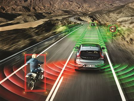 Sensors in autonomous cars