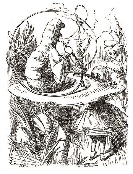Caterpillar - Alice's Adventures