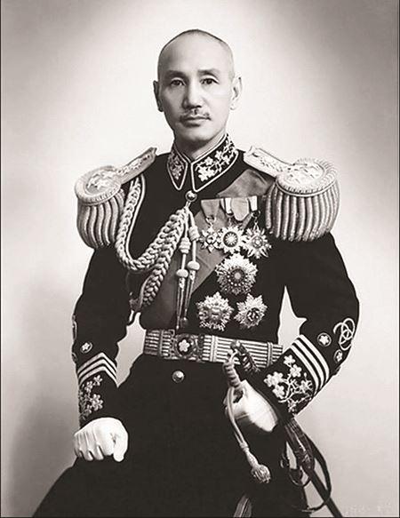 Chiang Kai-shek in 1943
