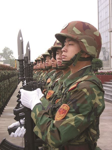 People's Liberation Army soldiers