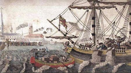 W.D. Cooper Boston Tea Party - 1789