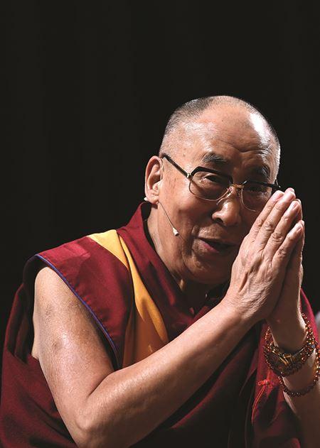 Tenzin Gyatso, born Lhamo Dhondup, 14th Dalai Lama