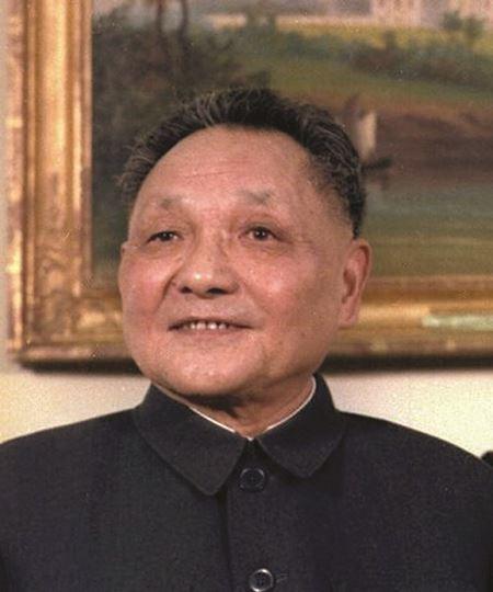 Deng Xiaoping, leader of China, 1978-1989