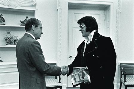 President Nixon meets Elvis Presley