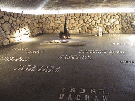 Eternal Flame - Yad Vashem Holocaust Memorial