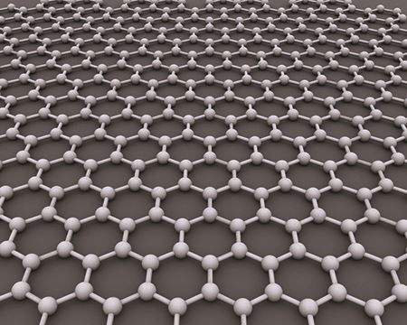 The hexagonal lattice structure of graphene