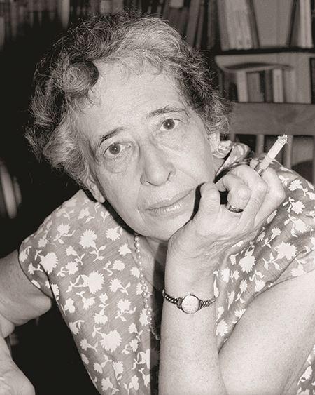 Hannah Arendt portrait 1964