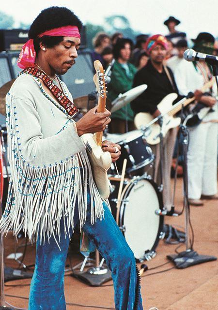 Jimi Hendrix - Woodstock Music Festival