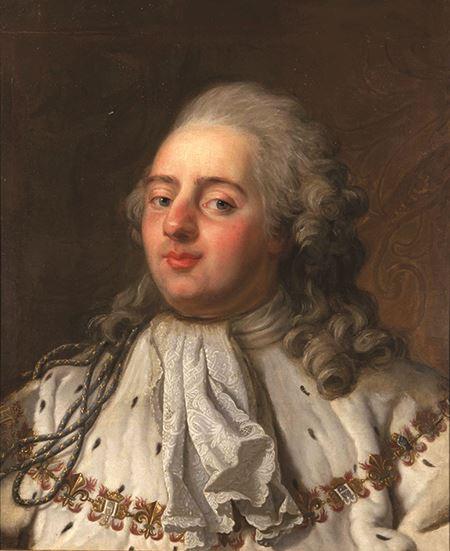Portrait of King Louis XVI of France, reigned 1774 - 1792Portrait of King Louis XVI of France, reigned 1774 - 1792Portrait of King Louis XVI of France, reigned 1774 - 1792