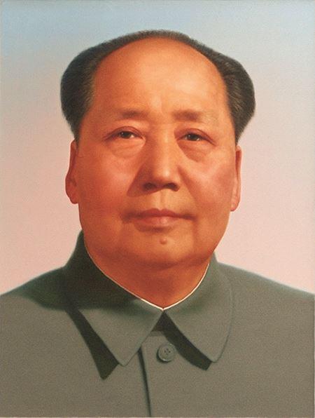 Mao Tse-tung portrait