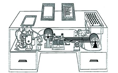 Vannevar Bush's concept of the memex