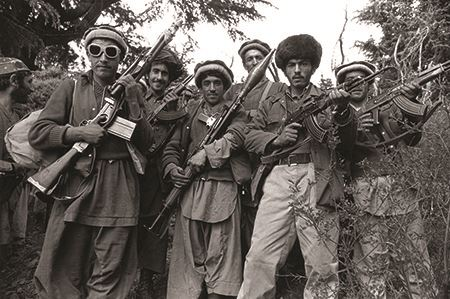 Mujahedeen fighters in Afghanistan