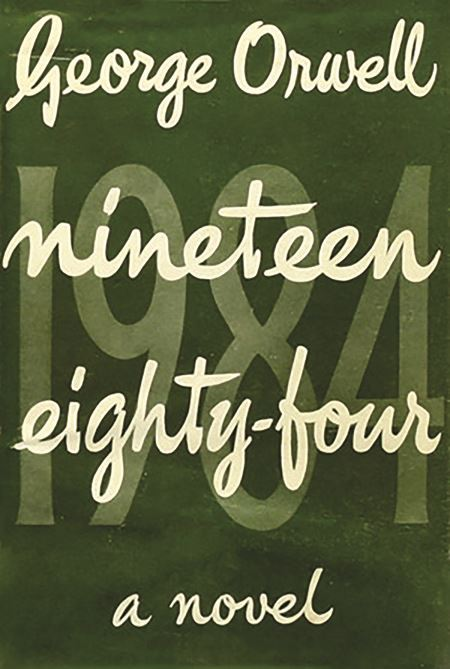 Nineteen Eighty-four cover - Orwell