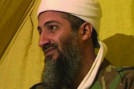 Osama bin Laden, leader of al-Qaeda