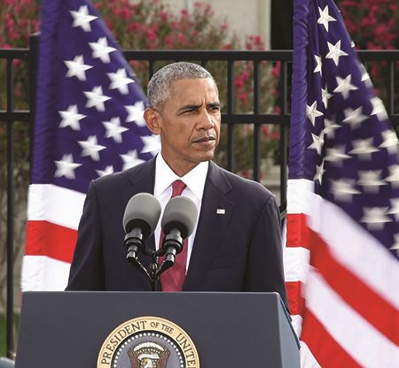 President Barack Obama fifteenth anniversary of 9/11