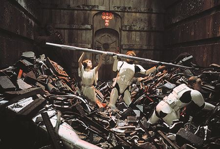 Star Wars - Death Star garbage compactor