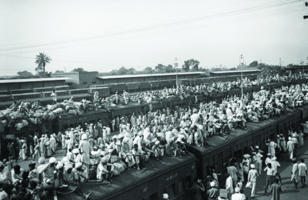 Train full of refugees - partition of India I