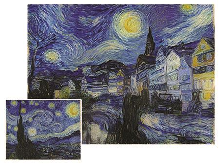 Vincent VanGogh - neural net recreated