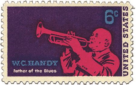 W.C. Handy 1969 Stamp